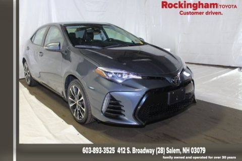Toyota Salem Nh >> Certified Pre Owned 2017 Toyota Corolla Se Fwd 4d Sedan