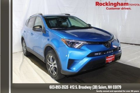 Toyota Salem Nh >> Certified Pre Owned 2017 Toyota Rav4 Le Awd 4d Sport Utility