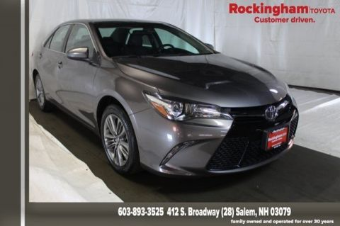 Toyota Salem Nh >> Certified Pre Owned 2017 Toyota Camry Se Fwd 4d Sedan