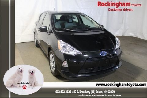 Certified Pre-Owned 2014 Toyota Prius C Two